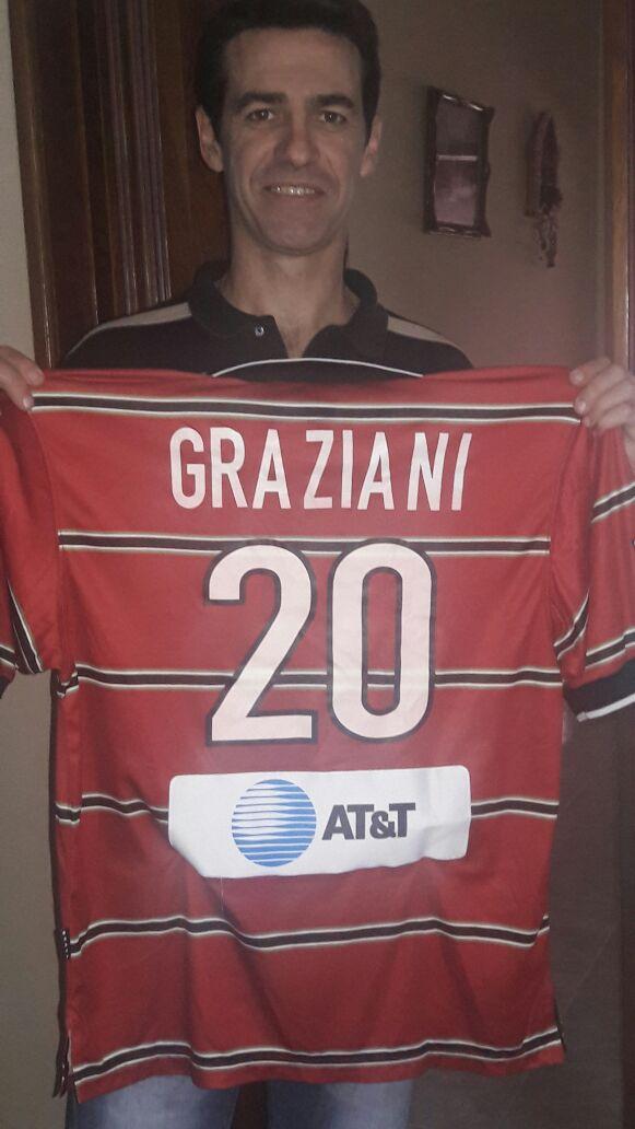 Ariel Graziani en 2017. Foto Cortesía Graziani
