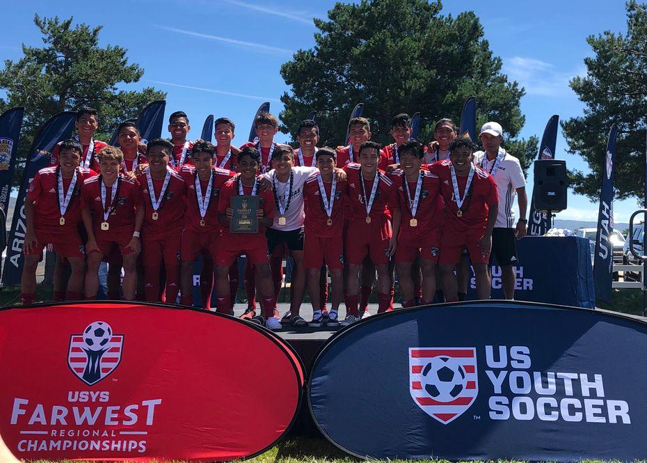 Las Vegas Sports Academy 03 Silver, 2019 USYS U16 National Champs.