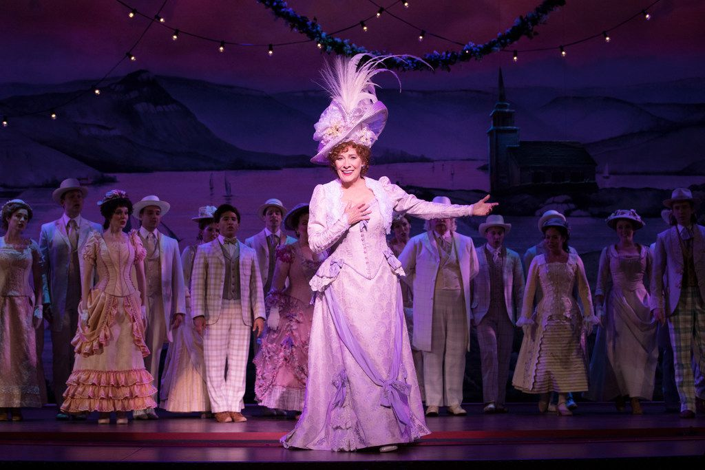 Betty Buckley takes her bows in the national touring production of Hello, Dolly!