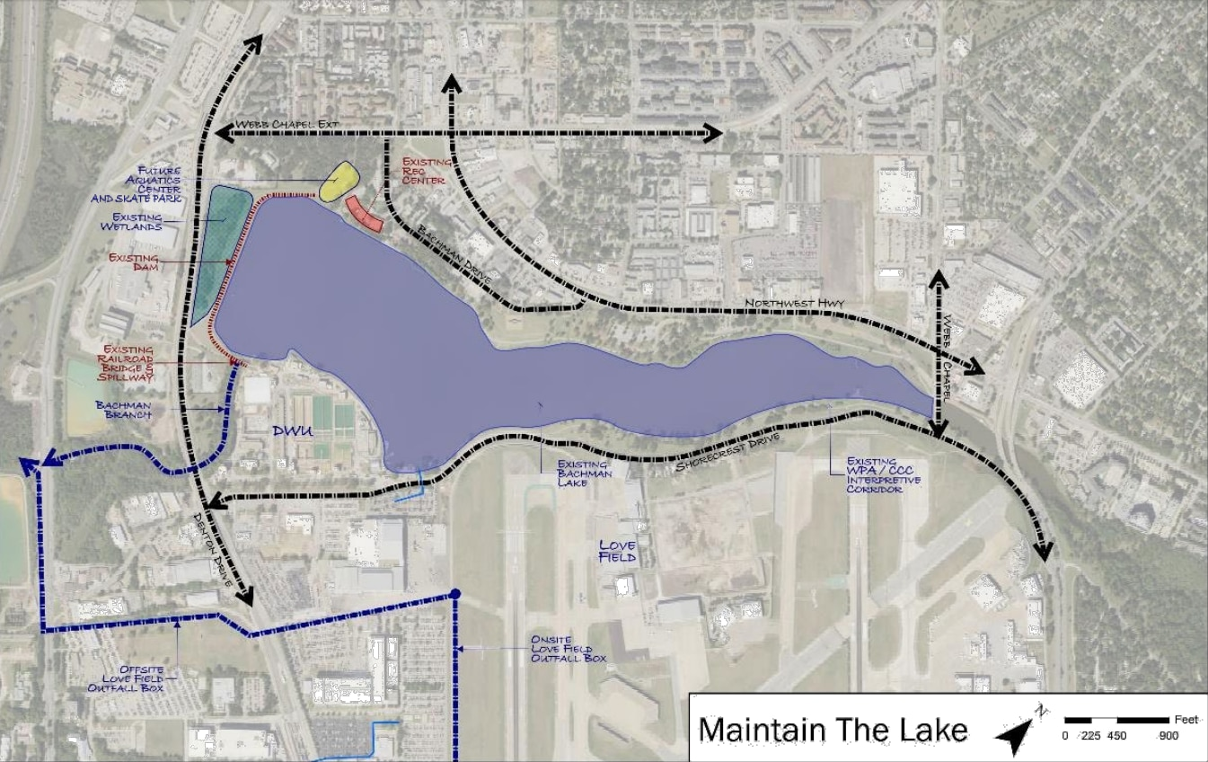 """The so-called """"Maintain the Lake"""" option unveiled Monday"""