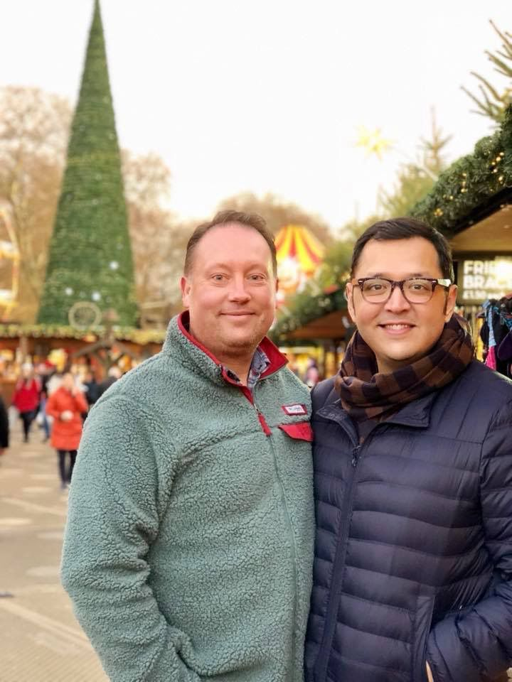 Jeff Cannon (left) and Aaron Lucero of Dallas were turned away from a Celina wedding venue, which says it does not host gay weddings.