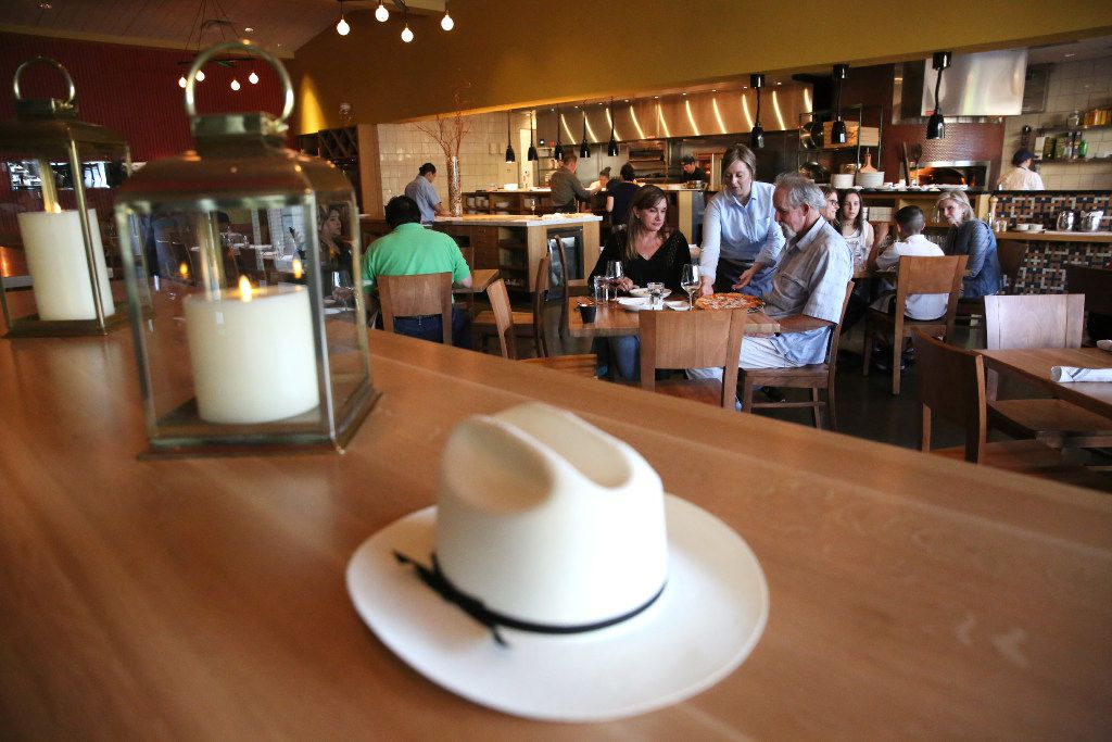 Dining area at Piattello Italian Kitchen in Fort Worth, Texas on Wednesday, May 17, 2017. (Rose Baca/The Dallas Morning News)