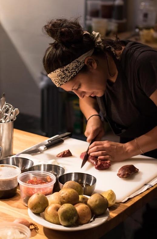 Chef Misti Norris, of Small Brewpub in Oak Cliff, created the menu for the inaugural Dallas Supper Club.