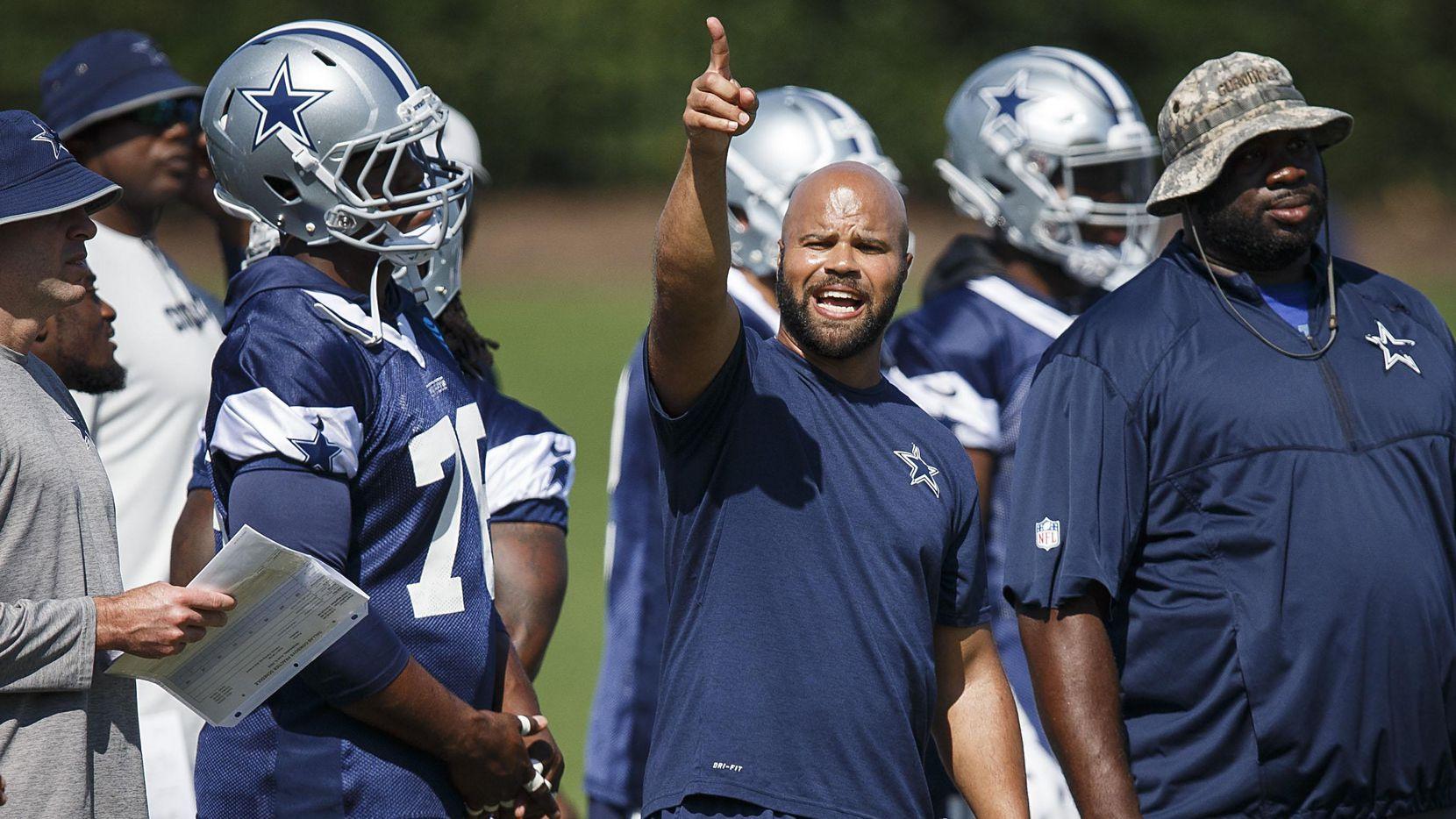 Kris Richard reemplaza a Joe Baker como coach de la secundaria de los Cowboys. (DMN/Smiley N. Pool)