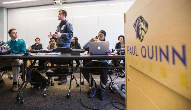 El Paul Quinn College de Dallas está entre nueve instituciones educativas bajo escrutinio del gobierno federal debido a supuestas fallas administrativas en sus finanzas. (DMN/ARCHIVO)