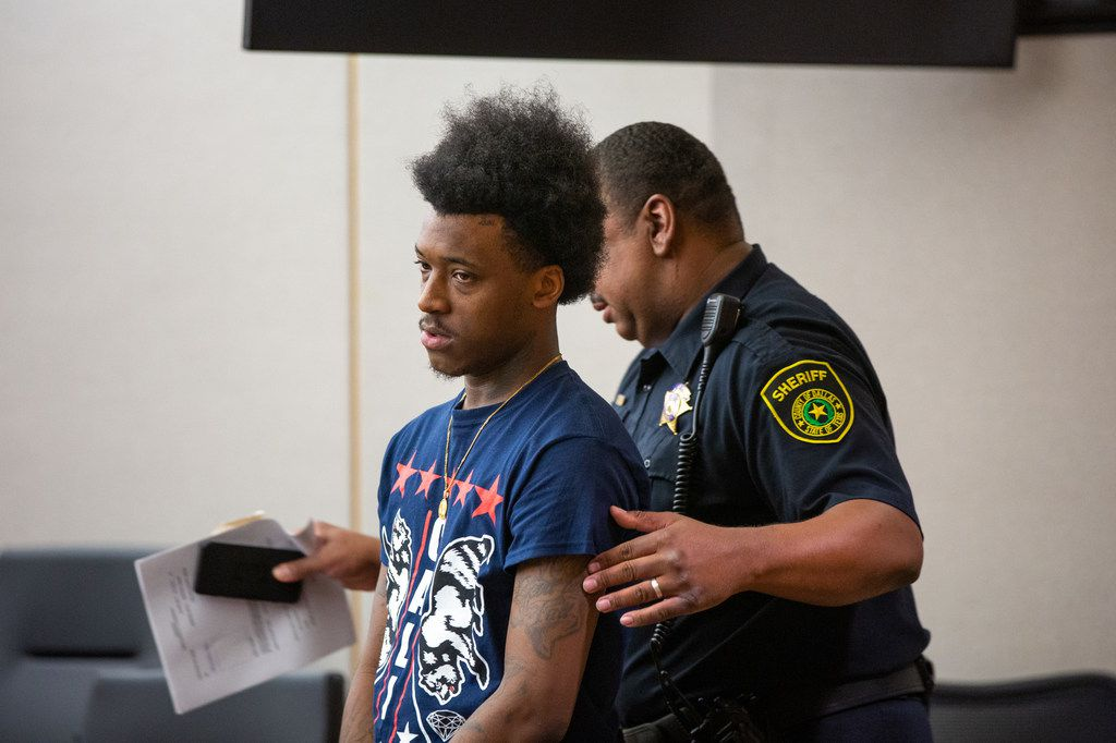 Sidney Gilstrap-Portley, 26, pleaded guilty Tuesday to a third-degree felony charge of indecency with a child and three counts of tampering with a government record. He was sentenced to six years of probation.