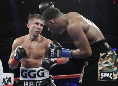 Gennady Golovkin derrotó a Daniel Jacobs el 19 de marzo en Nueva York. Foto AP