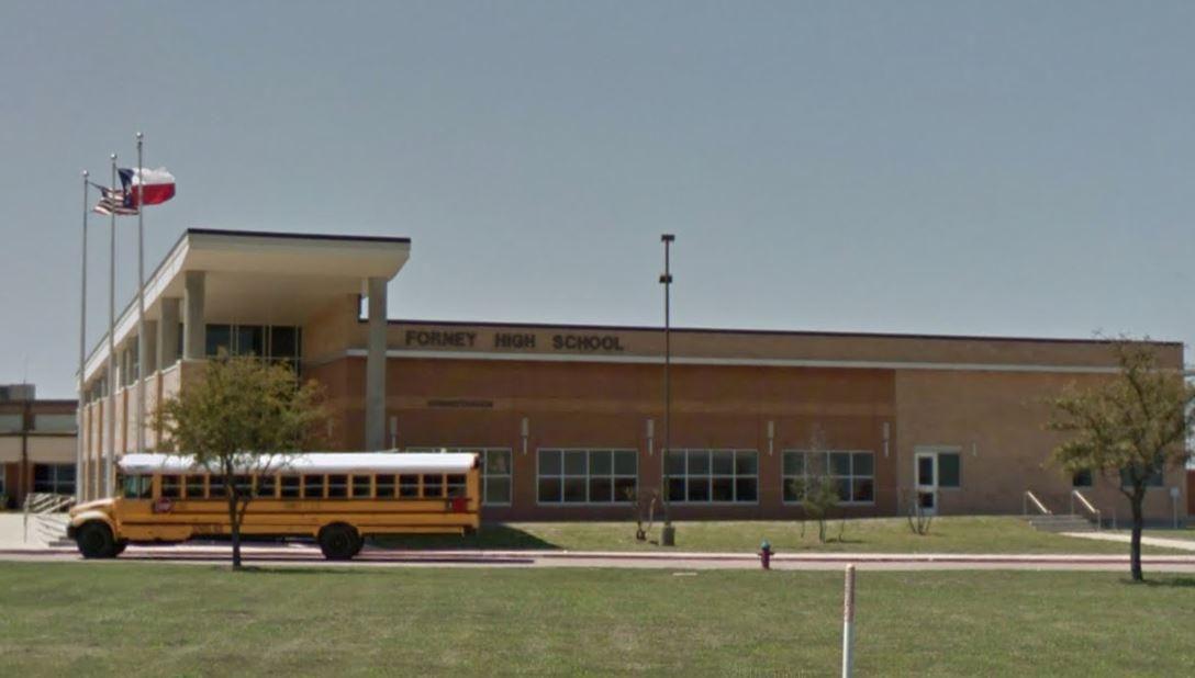 Plantel de la escuela Forney High.(GOOGLE MAPS)