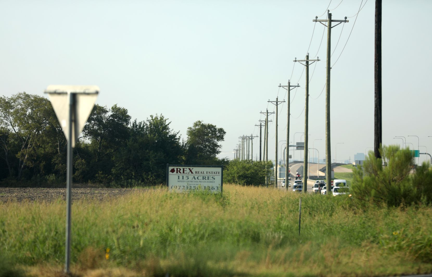 The southeast corner of the intersection of the Dallas North Tollway and Highway 380 in Frisco is still undeveloped.