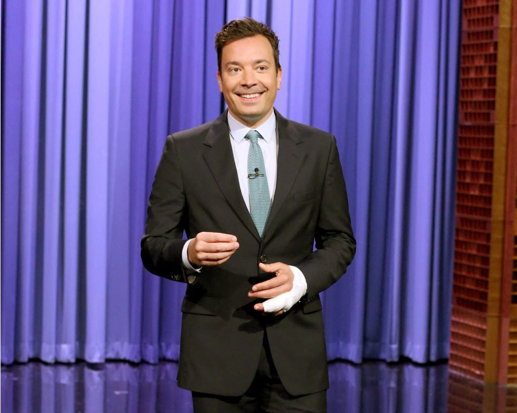 Jimmy Fallon, former 'Saturday Night Live' cast member, has hosted 'The Tonight Show Starring Jimmy Fallon' since 2014.