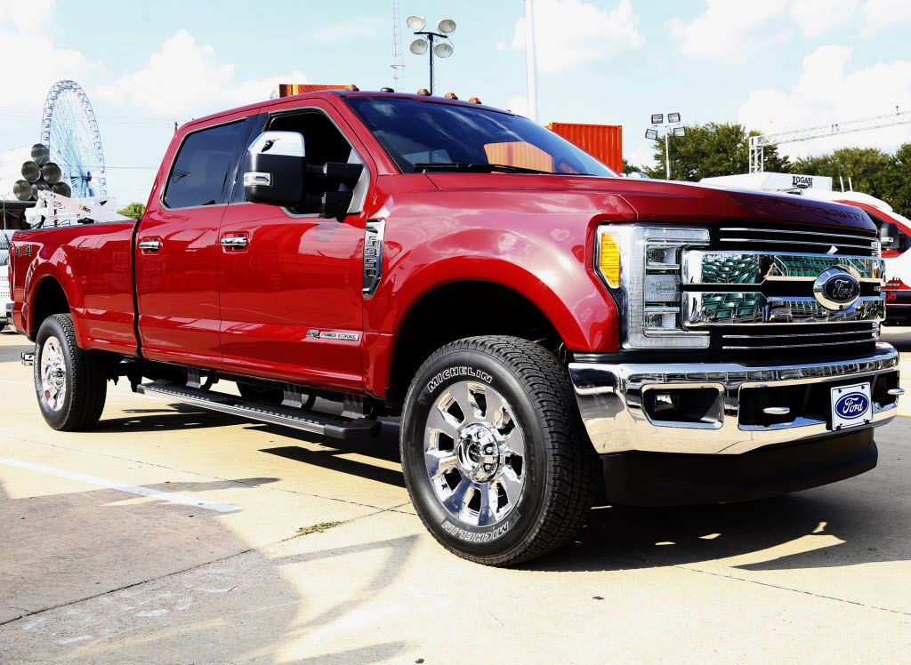 The Ford Super Duty pickup truck will be unveiled at this year's State Fair of Texas. (Ron Baselice/The Dallas Morning News)