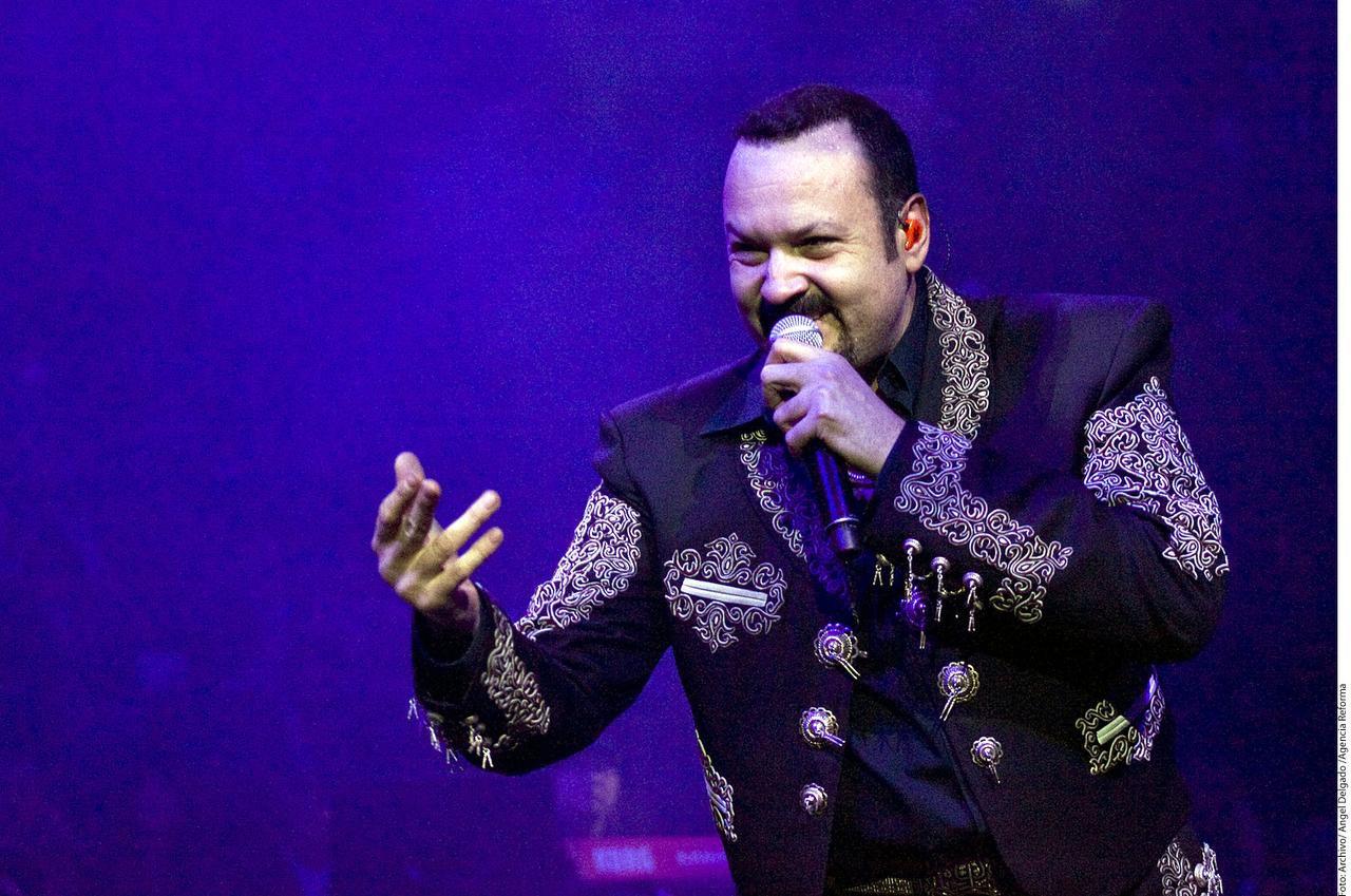 El cantante de música ranchera Pepe Aguilar.(AGENCIA REFORMA)