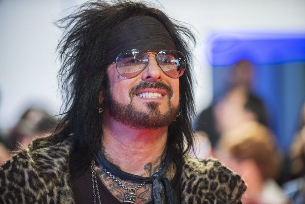 An admitted heroin addict in 1987, Nikki Sixx almost died from a drug overdose (Photo by Arthur Mola/Invision/AP)