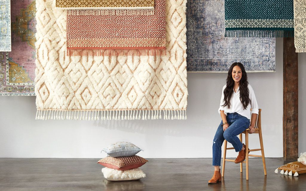 Joanna Gaines for Anthropologie is an exclusive brand made by the Waco designer for the chain of 266 stores. It went on sale online on Feb. 14 and will be in 130 stores next week.