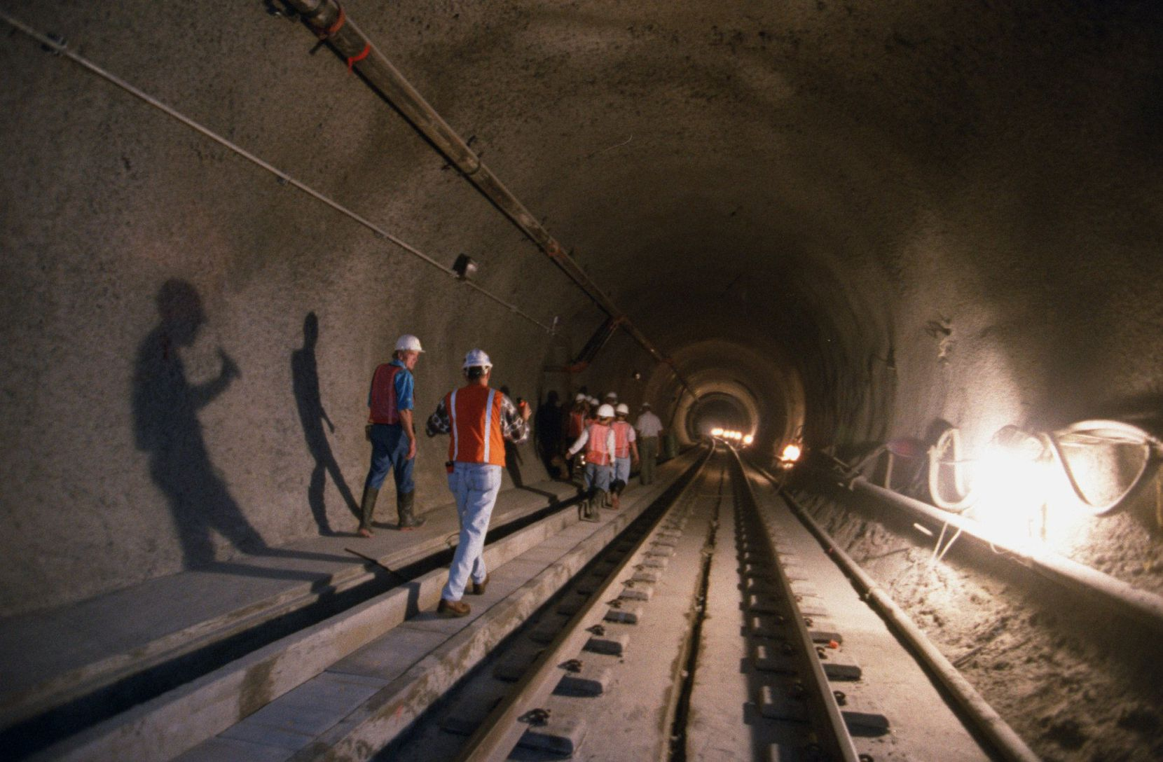 DART gave Knox-Henderson area residents a tour  of the subway tunnel back in 1996.
