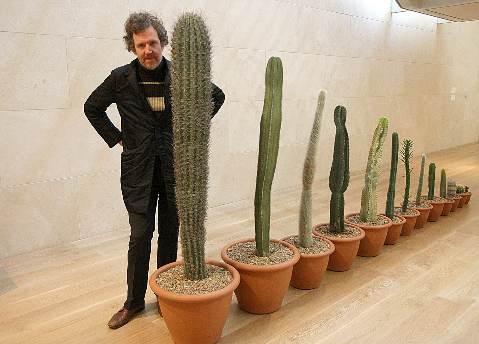 Martin Creed, shown here at the Nasher Sculpture Center in 2011, is best known as a visual artist, but he has also been writing and performing music for decades.