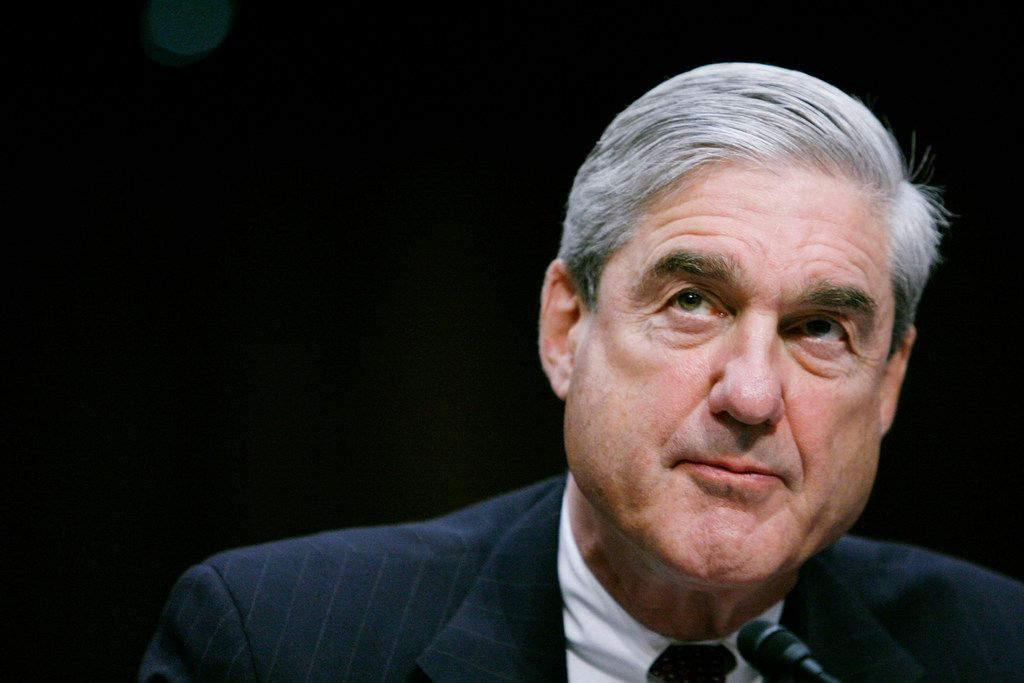 Robert Mueller on February 16, 2011, as he testifies before a Senate Intelligence Committee hearing in Washington, D.C. (James Berglie/Zuma Press/TNS)