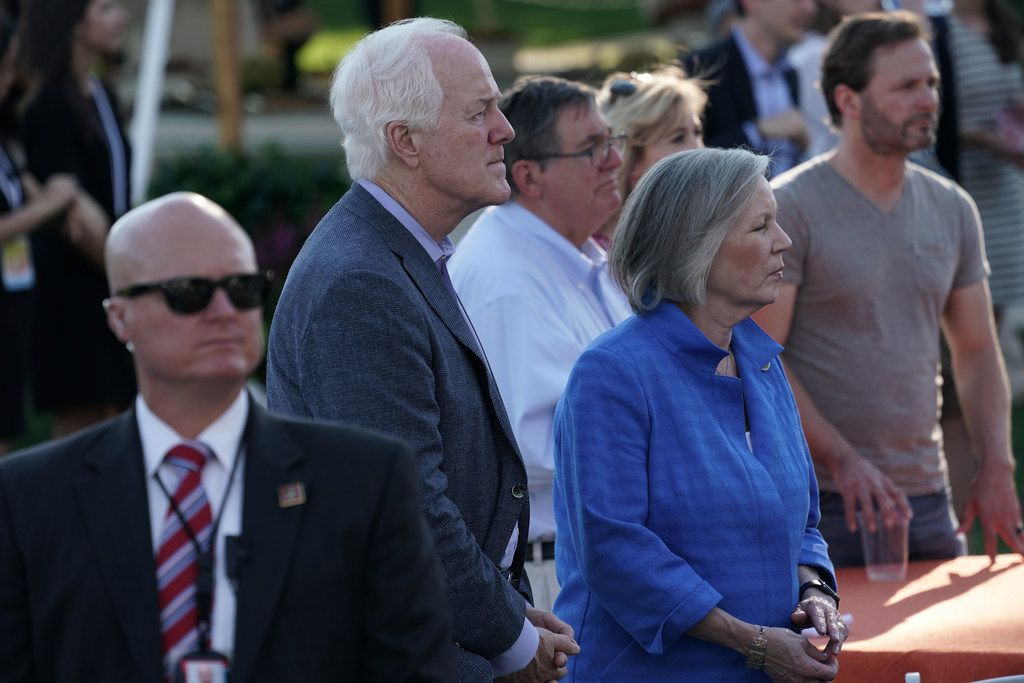 U.S. Sen. John Cornyn, R-Texas, attended a congressional picnic on the South Lawn of the White House on  June 21 in Washington, D.C. President Donald Trump and the first lady hosted the traditional event for congressional members, their families and staff member for the event at the White House.