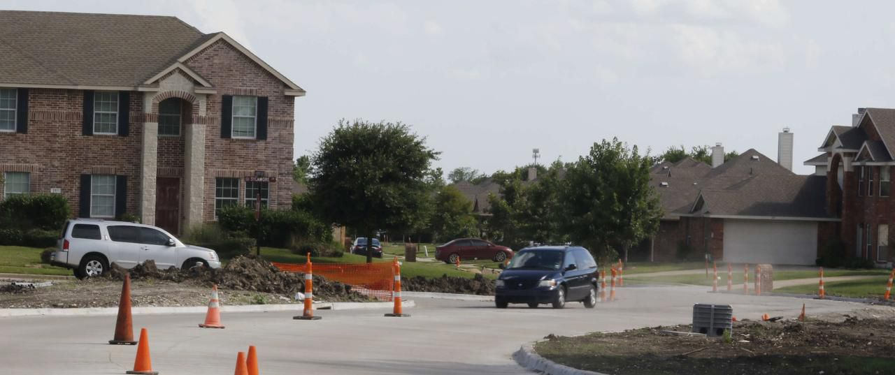 New construction is a reflection of the growth in Red Oak. The city's population has grown almost 200 percent since 2000. As a result, new streets are being developed though out the community.