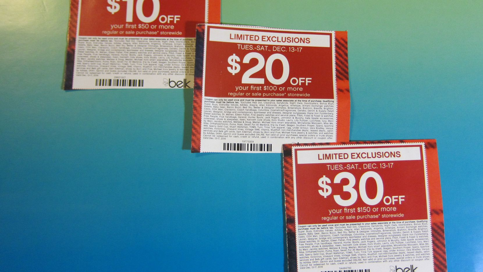 "An Arlington man turned The Watchdog on to a new but sad trend in retail shopping. It's called ""coupon exclusion."" Shoppers learn at checkout that items they want to buy are excluded from discount because of ultra tiny print on the backside of the coupon."