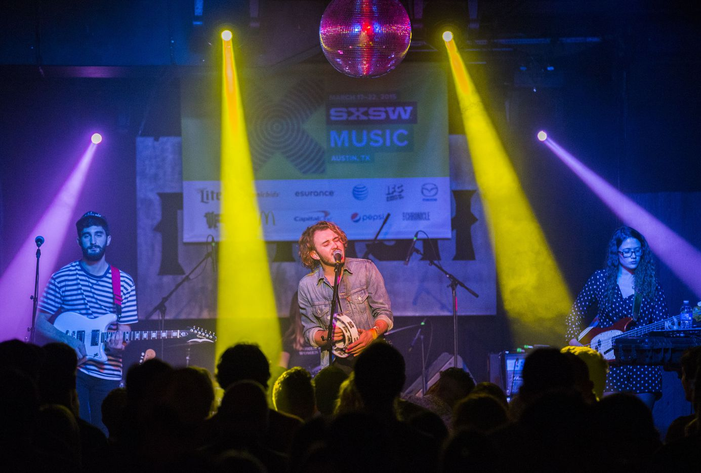 The band San Cisco of Australia performs at the Parish during the 2015 SXSW music festival on Thursday, March 19, 2015 in Austin.