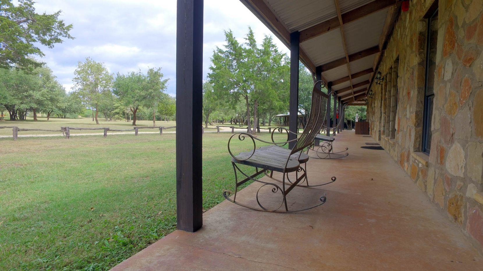 Stormbreak Ranch has four lodge buildings.
