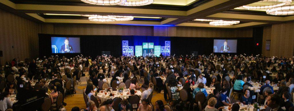 The Dallas Mayor's Intern Fellows Program celebratory lunch at the Omni Dallas Hotel on Thursday, July 27, 2017.
