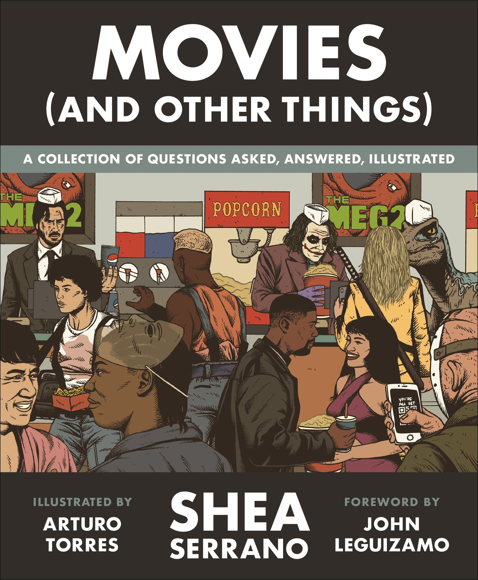 Shea Serrano's new book 'Movies (and Other Things)' features illustrations by Dallas artist Arturo Torres.