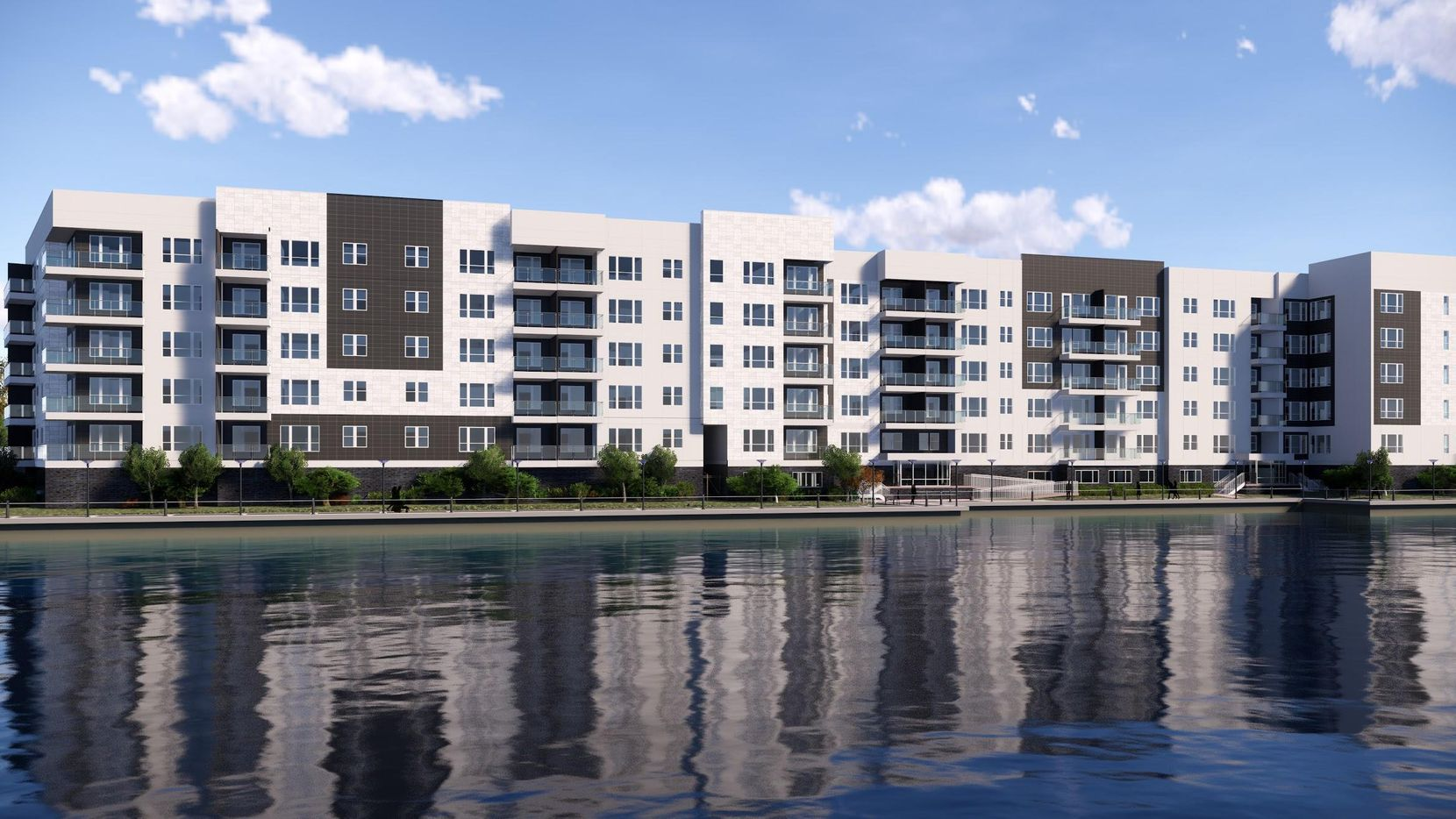 Legacy Partners is building a new rental community on Lake Carolyn in Las Colinas.