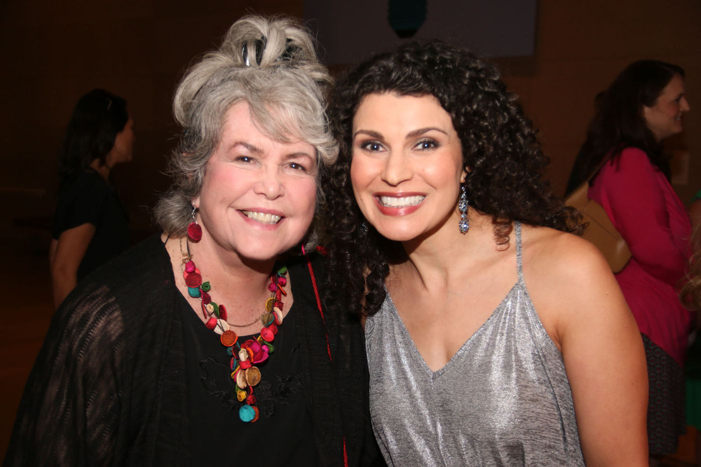 Monica Berry (right) was a participant in the Oral Fixation  best of season four at the Dallas Museum of Art on August 15, 2015