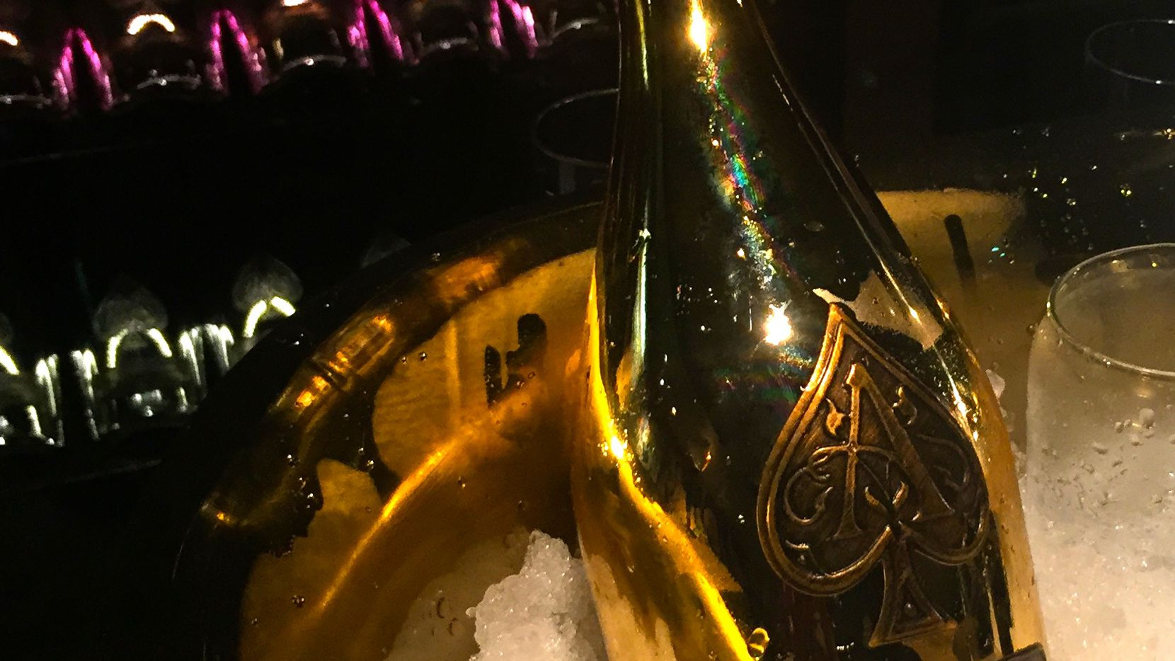 A single glass of Ace of Spades' Brut Champagne will cost $150 at Nick & Sam's Steakhouse. Hope you brought the company card.