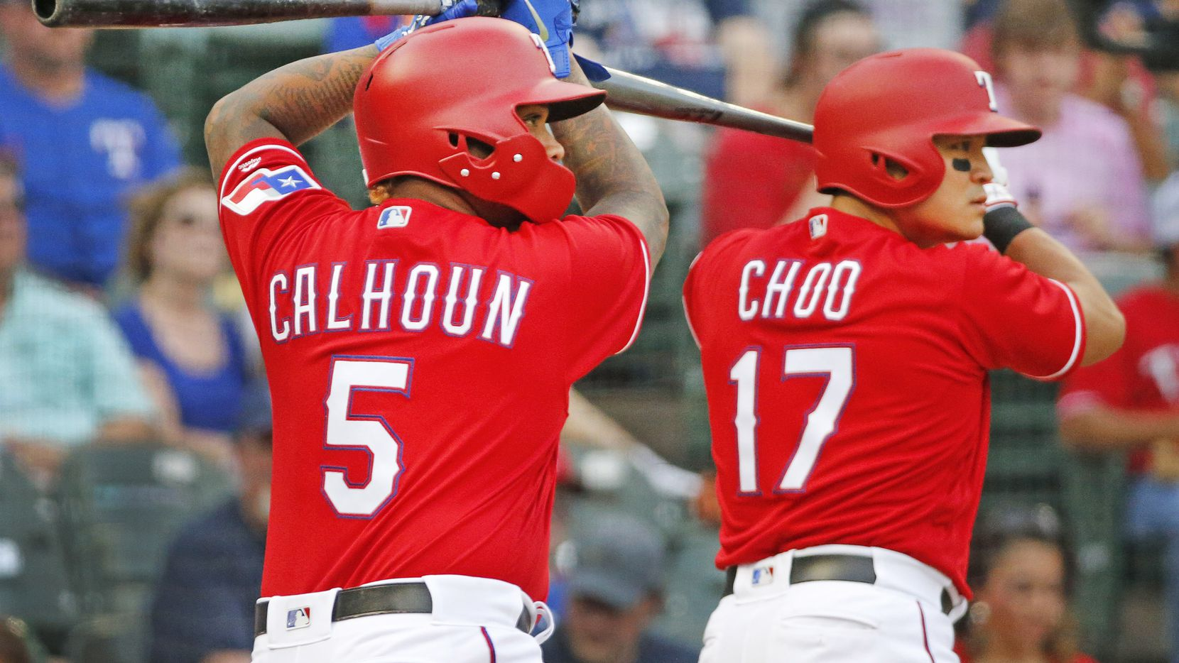Shin-Soo Choo has dealt with what Wille Calhoun is going through right now. He had some advice for the youngster.