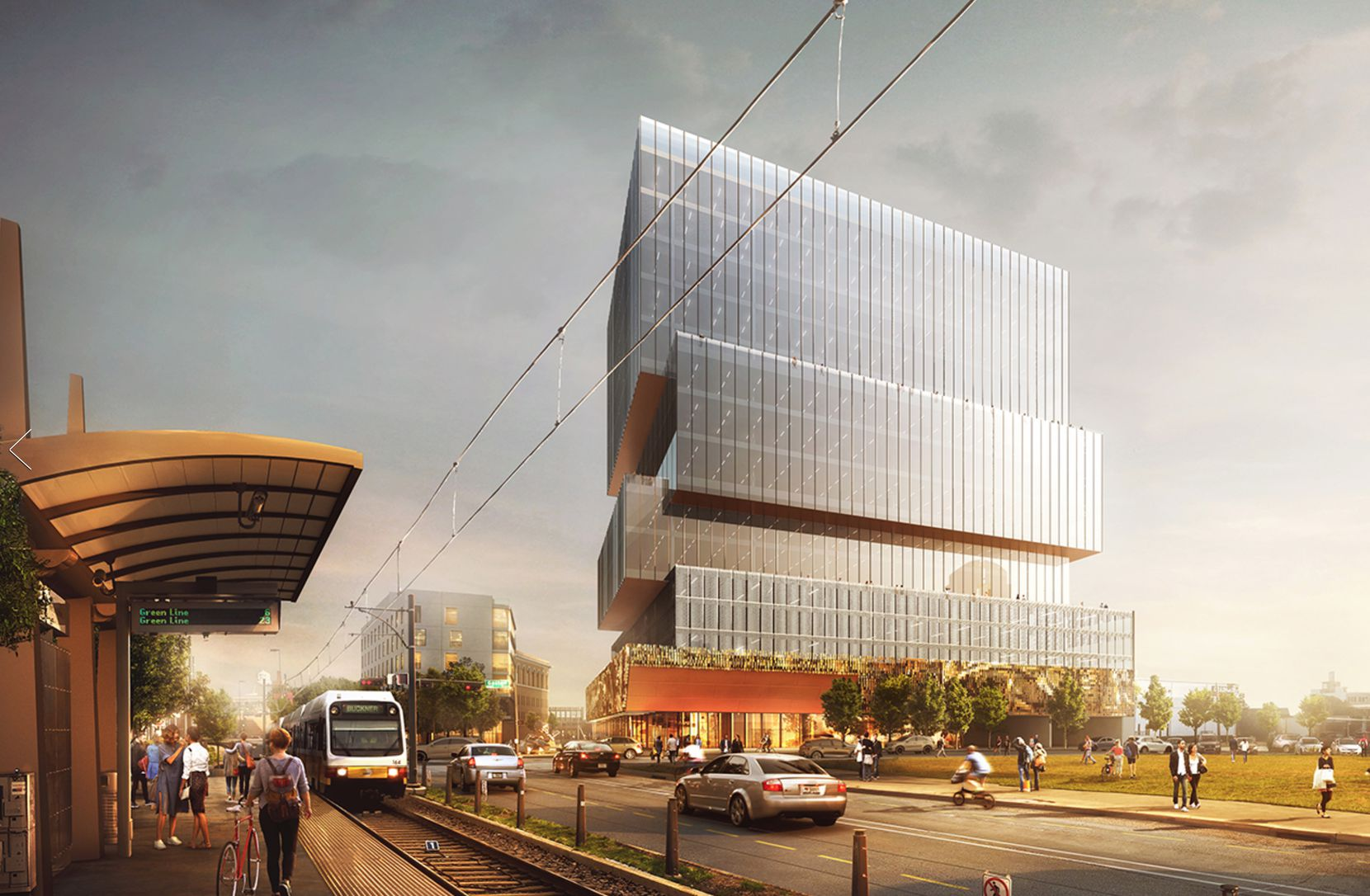 The Epic office tower opens next year.
