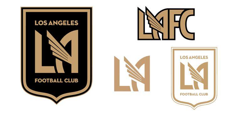 Los Angeles FC logos