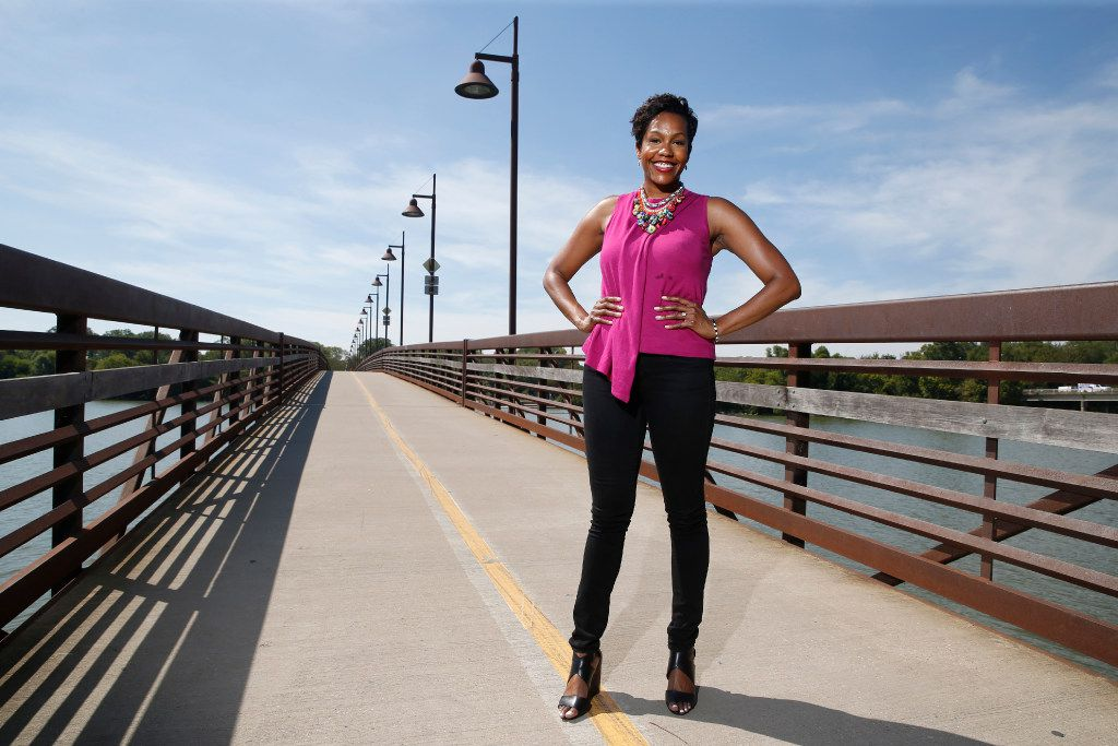After Taryn Pemberton was diagnosed with breast cancer and after surgery, she went to White Rock Lake, intending to walk 30 minutes. Two-and-a-half hours later, she had circled the lake.