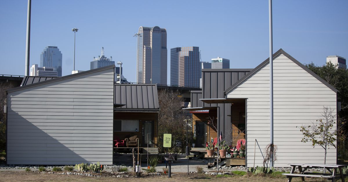 What happened to all of the tiny houses for the homeless in Dallas? Curious Texas investigates