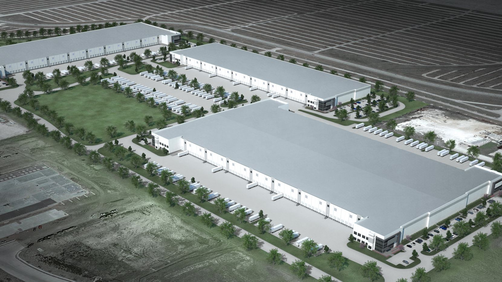 Stream Realty Partners plans three buildings in its new North Fort Worth business park.