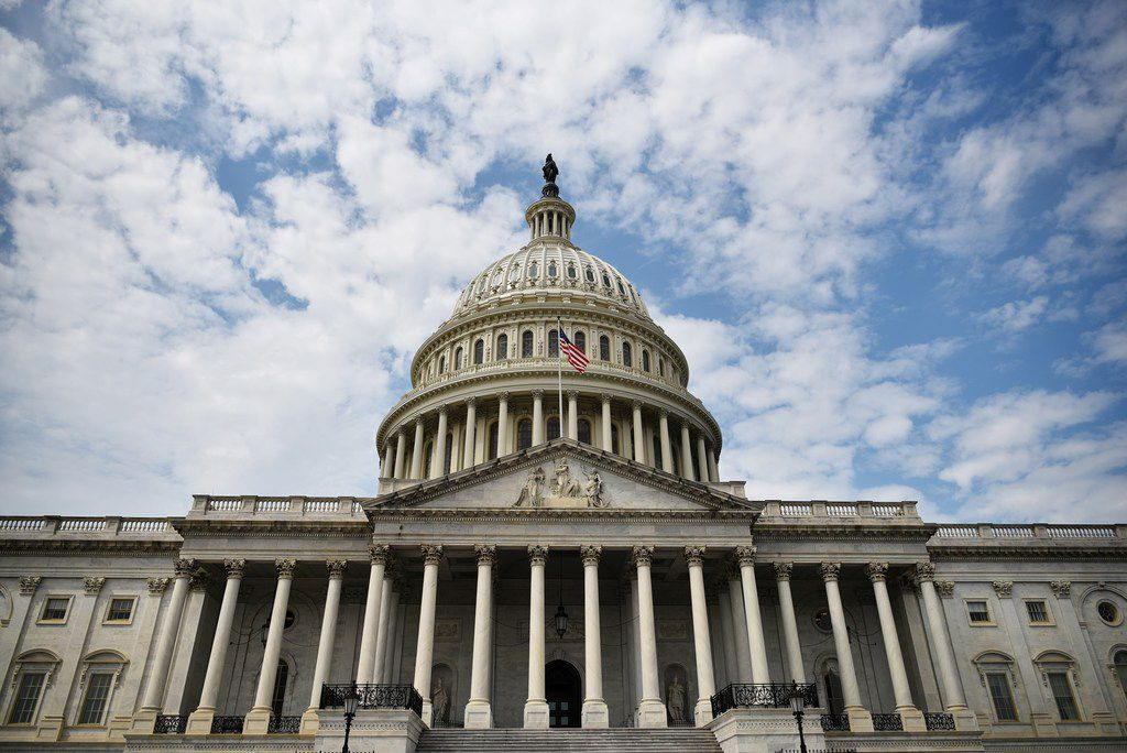 (FILES) In this file photo taken on September 9, 2019, the US Capitol is seen  in Washington, DC as Congress returns from its summer recess. -  (Photo by MANDEL NGAN / AFP)MANDEL NGAN/AFP/Getty Images