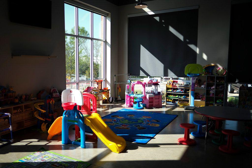 Children have their own playroom at the new Samaritan Inn homeless center.