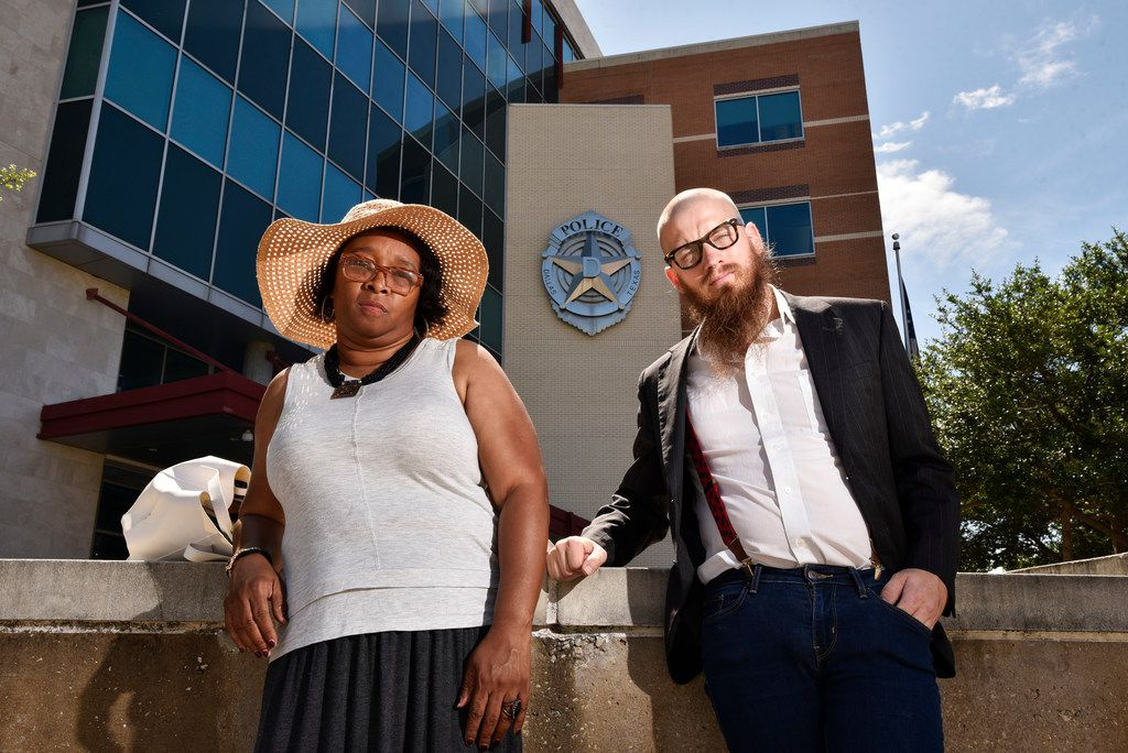Activists Olinka Green and Jeff Hood say more detectives are needed on the Dallas police force.