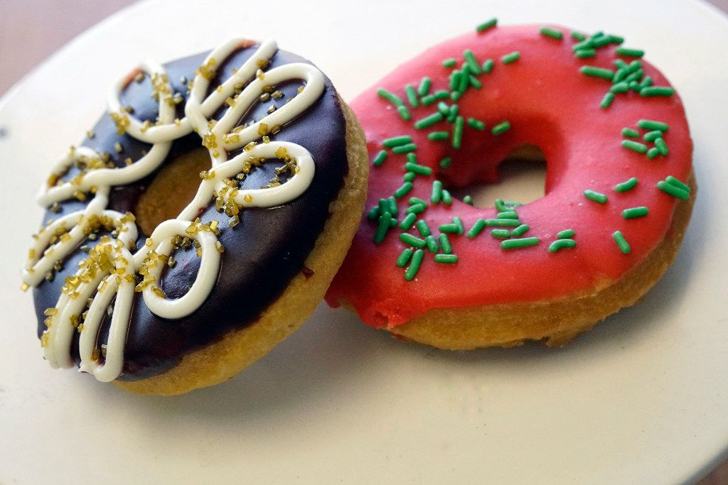 The Red Velvet & Watermelon doughnuts are two of the experimental flavors that McCartney is working on for the summer.