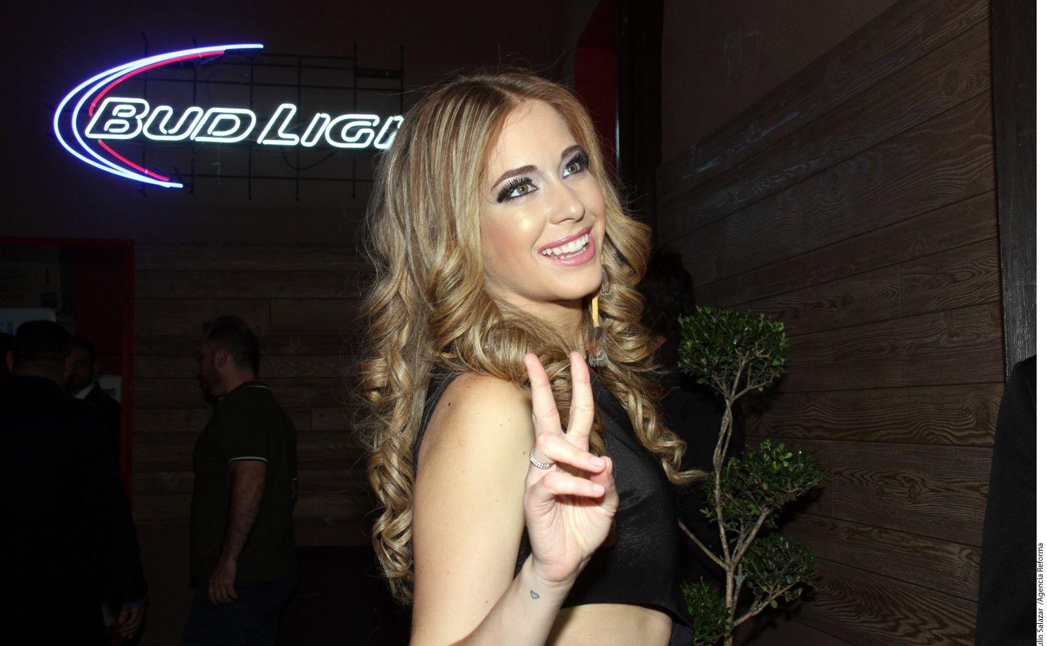 La actriz Carmen Aub decidió revelar fotos por las que la una persona le pedía dinero por no publicar./AGENCIA REFORMA