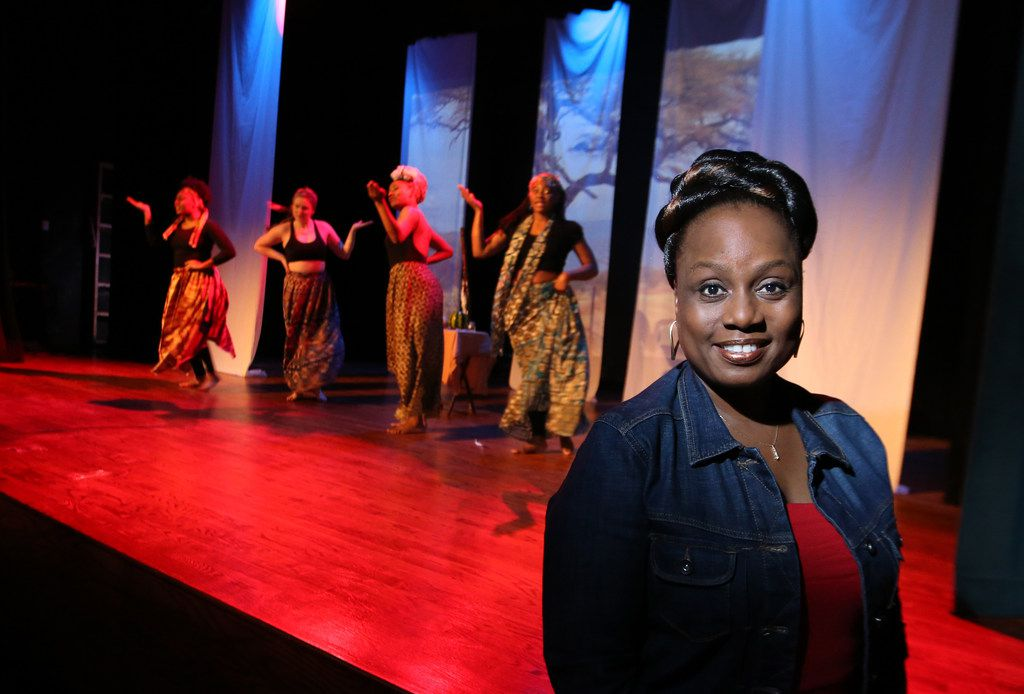Bishop Arts Theatre Center founder and artistic director Teresa Coleman Wash is pictured during a rehearsal of Down for #TheCount, a festival of women's plays at Bishop Arts Theatre Center.