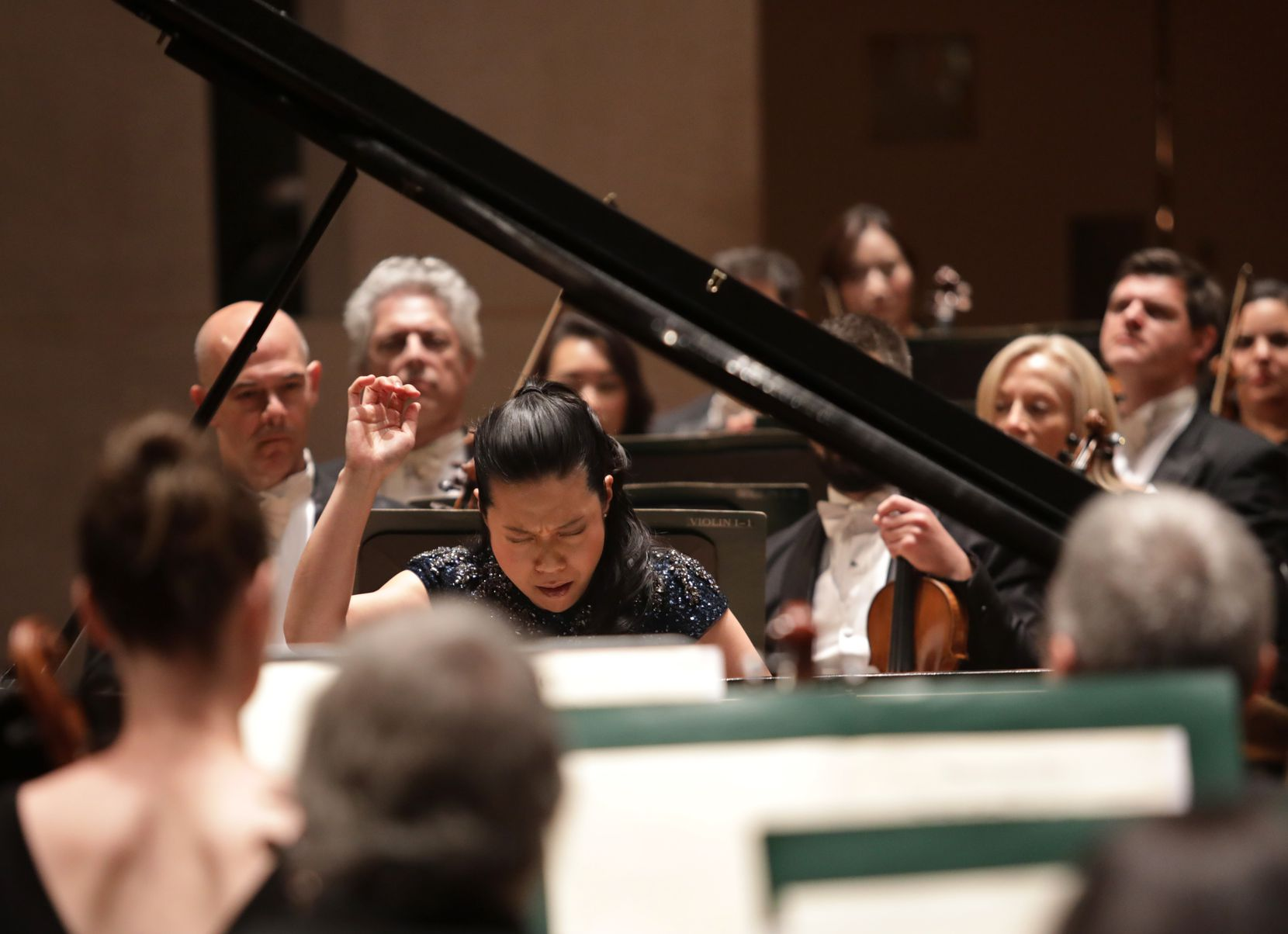 Piano soloist Joyce Yang performs Thursday, Oct. 10, with the Dallas Symphony Orchestra at the Meyerson Symphony Center.