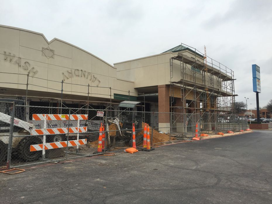 The Meso Maya in Lakewood was a complete gut job. Here's the restaurant in early 2016, before the patio was added and the facade was painted a rust red.