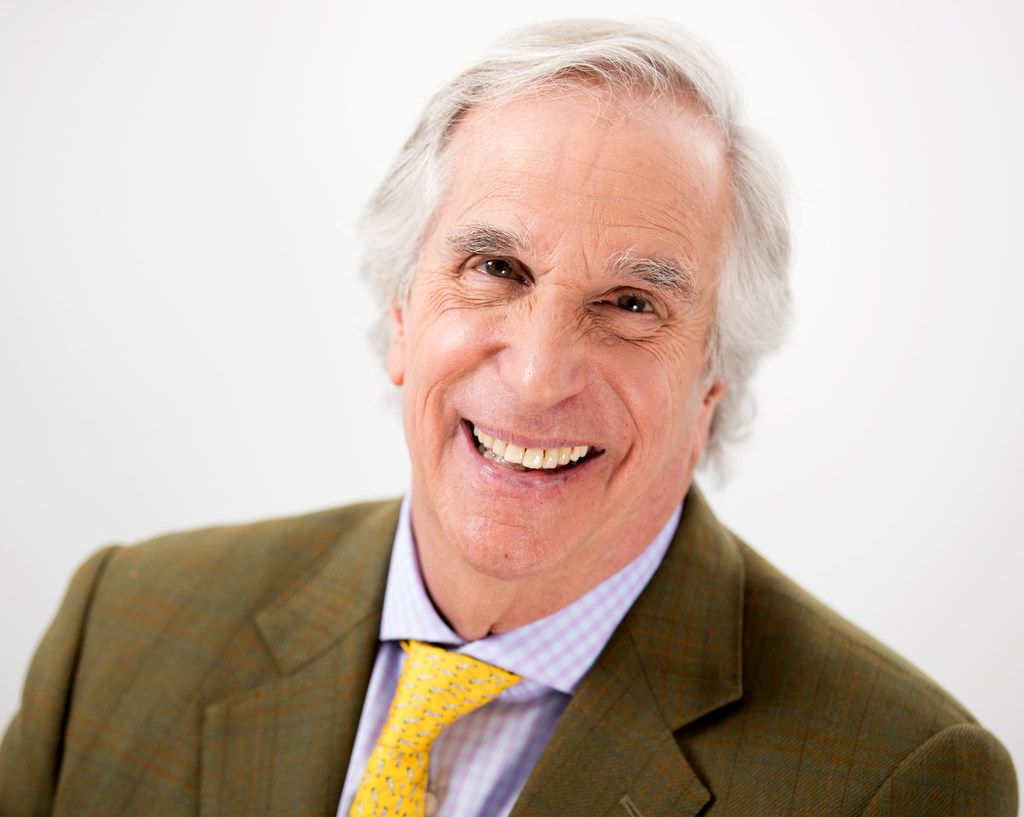 Actor and author Henry Winkler is promoting his latest children's book, Here's Hank: Everybody Is Somebody.