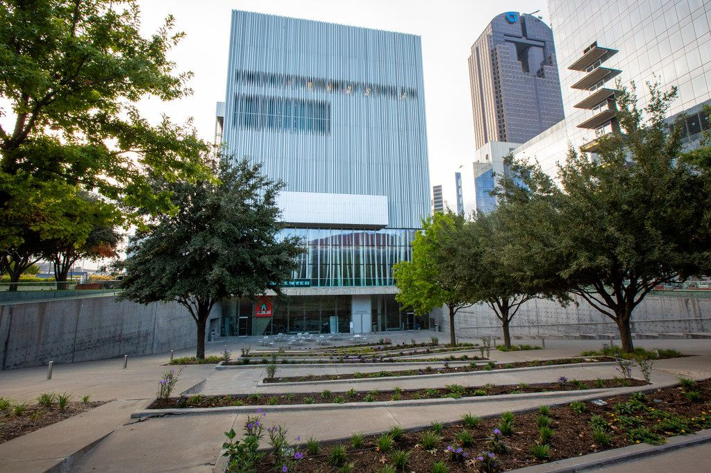 The Dee and Charles Wyly Theatre is photographed in the Arts District of downtown Dallas on Oct. 2, 2019. The AT&T Performing Arts Center is celebrating its 10th anniversary on Oct. 12, 2019.