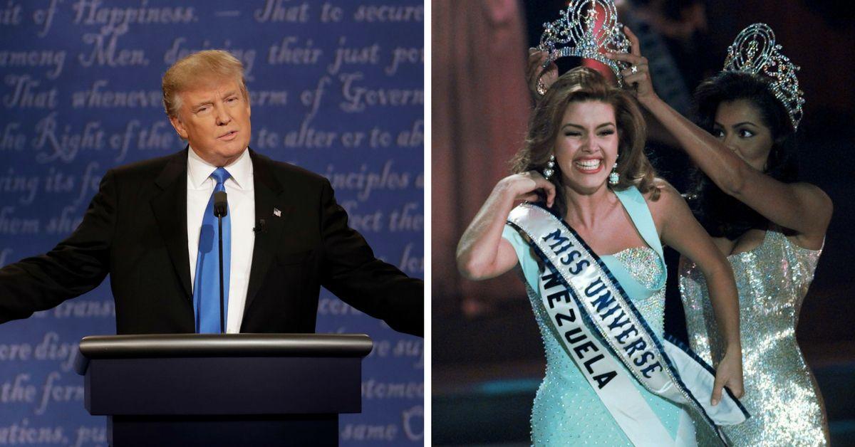 Alicia Machado fue Miss Universo en 1996. AP