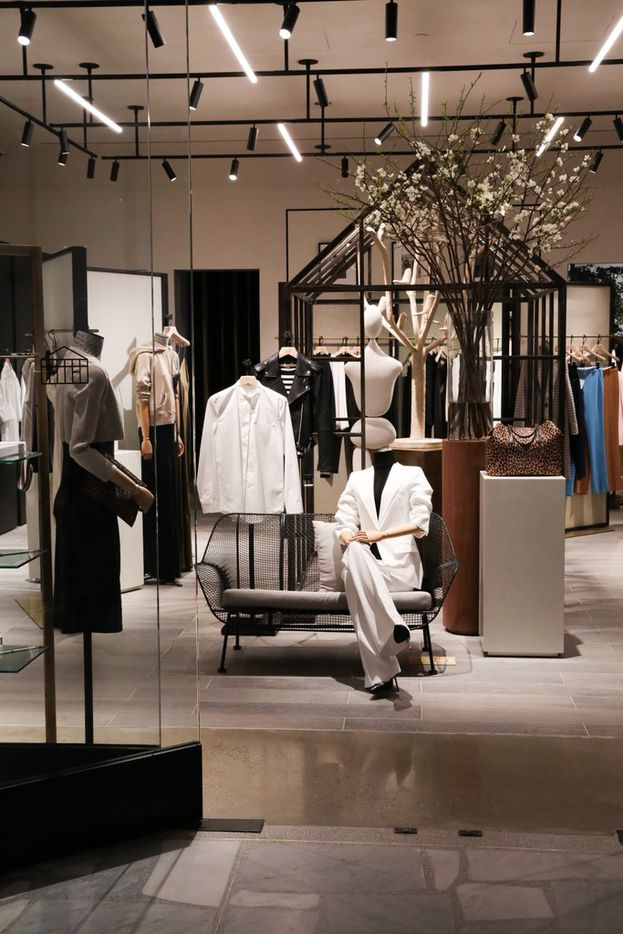 The Conservatory opened Friday, in New York's Shops at Hudson Yards. The store is a new concept that merges luxury online shopping with physical space from Brian Bolke, co-founder of Dallas-based Forty Five Ten.