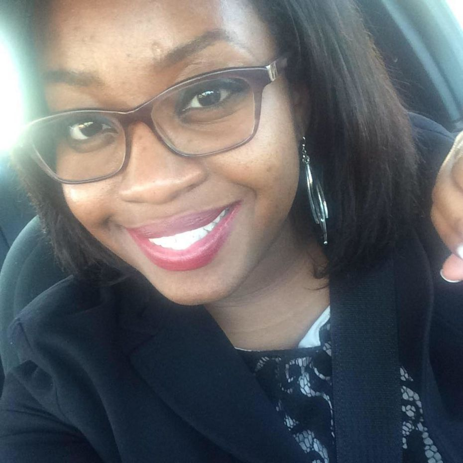 Kiersten Symone Smith, 29, is shown in a photo posted to her Facebook page in January 2016. She died Sunday, after a crane fell onto her Dallas apartment during a storm. The crash left the residents of Elan City Lights looking for shelter elsewhere after fire officials evacuated the structure in light of the extensive damage.